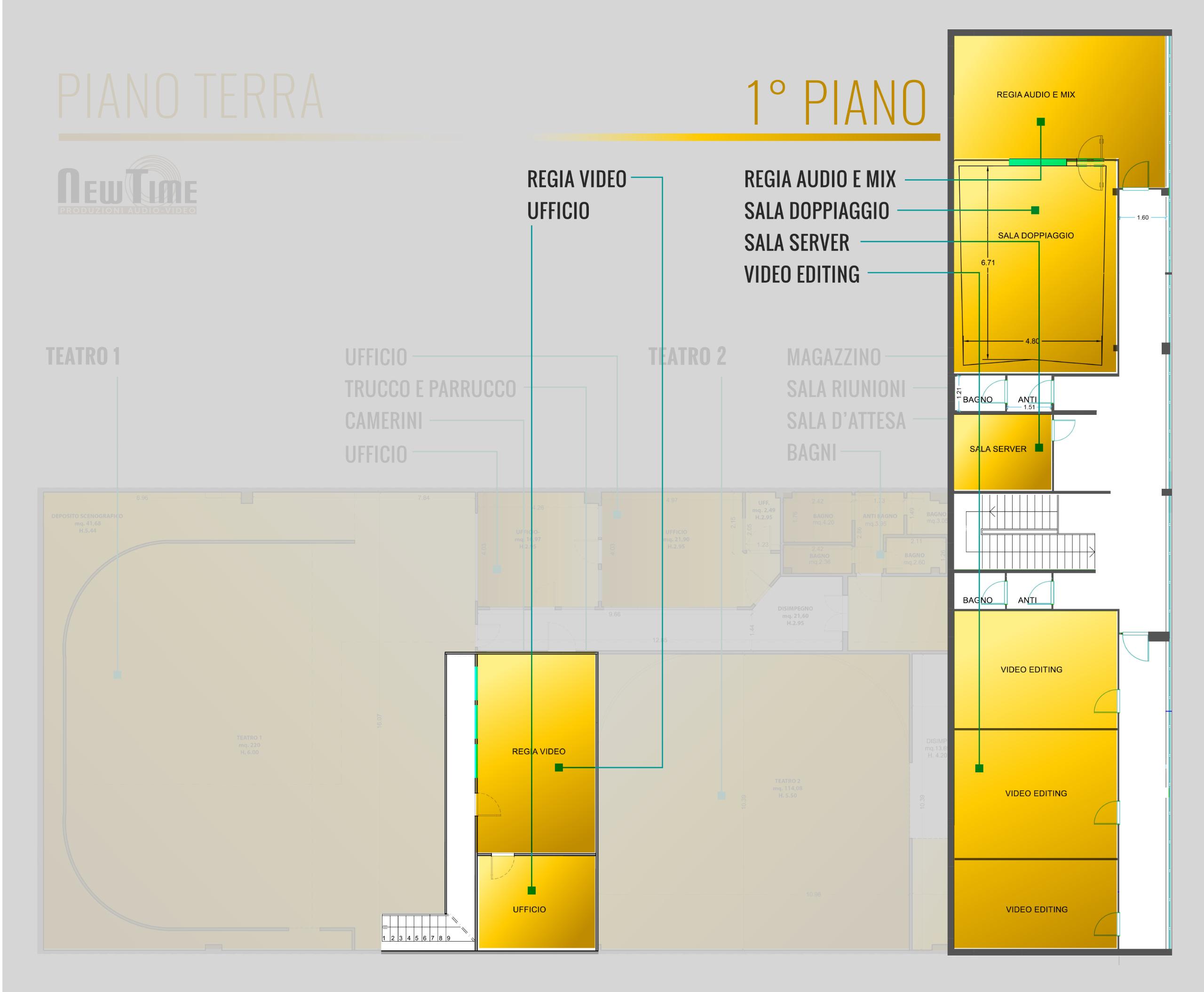 Studi NewTime - Primo Piano